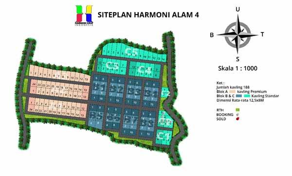 Siteplan Harmoni Alam