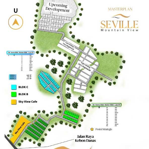 Azamta Properti Siteplan Seville Mountain View