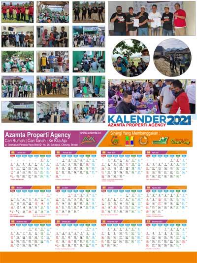 Kalender 2021 Azamta Properti
