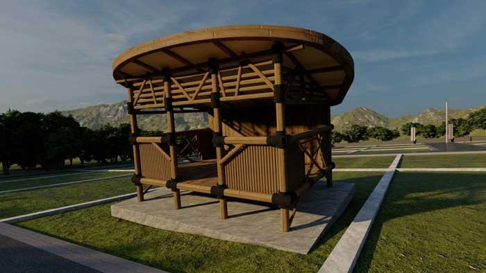 01 Topping Bamboo House Utopia Land Azamta Properti