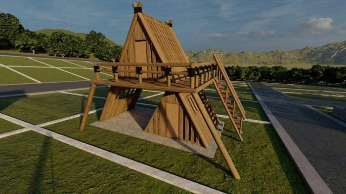 03 Topping Bamboo House Utopia Land Azamta Properti