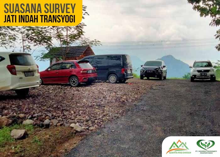 Suasana Survey Kavling Jati Indah Transyogi Bogor