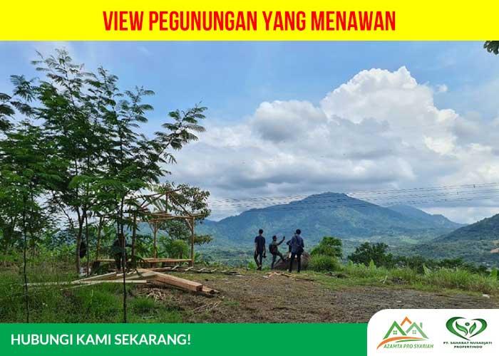 Kavling Jati Indah Transyogi - pemandangan pegunungan yang menawan