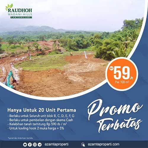 Raudhoh Madani Hills - Azamta Properti 2