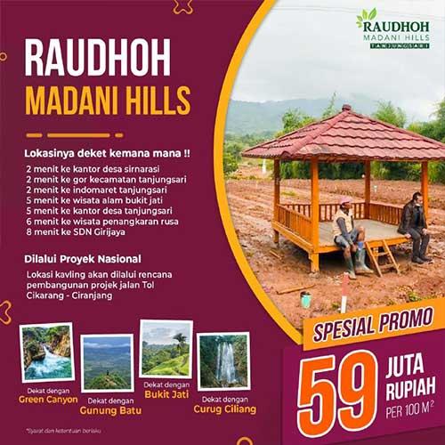 Raudhoh Madani Hills - Azamta Properti 3
