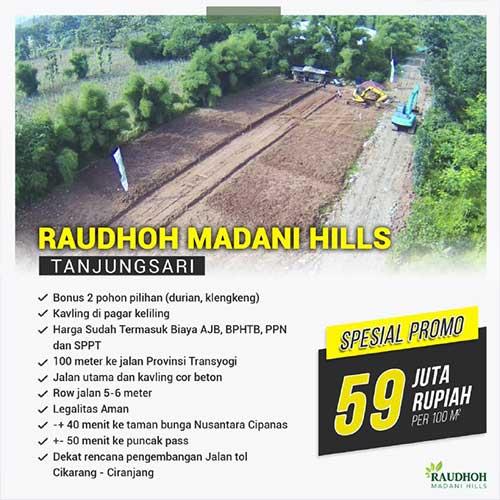 Raudhoh Madani Hills - Azamta Properti 4