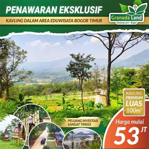 Granada Land Kavling Eduwisata Bogor - Penawaran Eksklusif 53 Juta