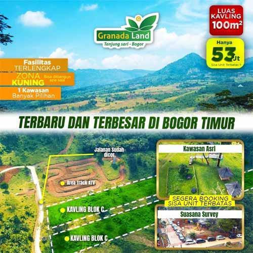 Granada Land Kavling Eduwisata Bogor - Terbaru dan Terbesar di Bogor Timur