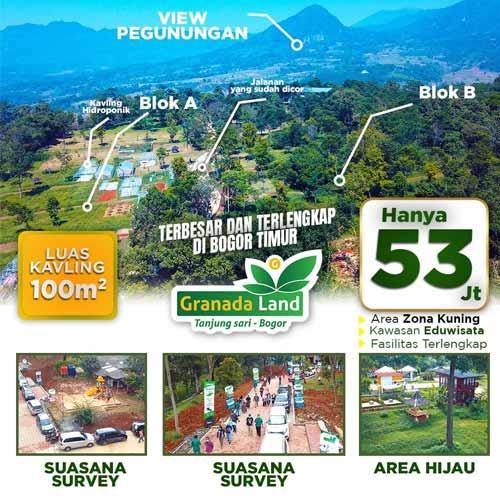 Granada Land Kavling Eduwisata Bogor - View Pegunungan