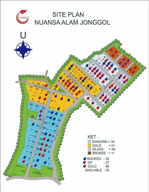 Siteplan Nuansa Alam Jonggol
